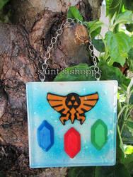 Legend of Zelda Resin Tile by Saint-chan