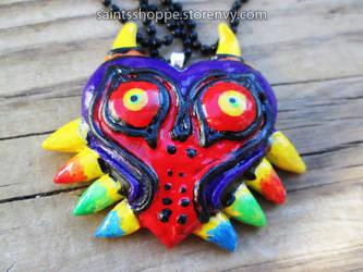 Majora's Mask Charm by Saint-chan