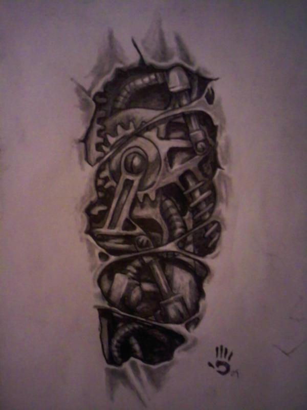 bio mechanical design by str8twisted13x on DeviantArt