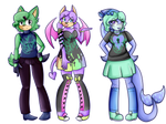 Paypal Mobian Adopts (2/3 OPEN) (price reduced) by DalaneyBugg