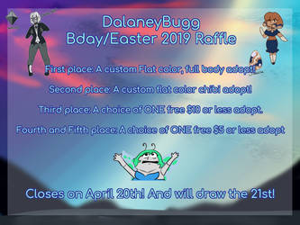 Birthday and Easter Raffle 2019 CLOSED + WINNERS