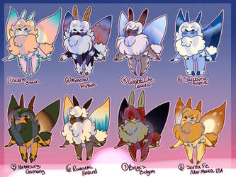 Holiday Location Moth Adopt Set (Open - Paypal)
