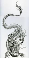 Le-dragon by vinkalu