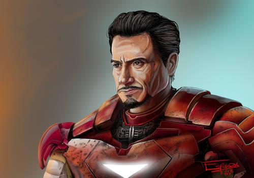 Robert Downey JR as Tony Stark