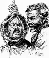 Eli Wallach Franco Nero Long Live Your Death by SpirosSoutsos