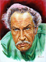 Vincent price painting portrait theatre of blood