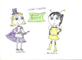 Genderswapped Fairy Green by pinkiepielover63