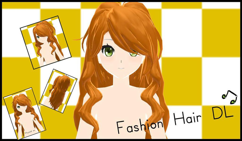 Mmd Orange Short Hair Related Keywords Suggestions Mmd Orange