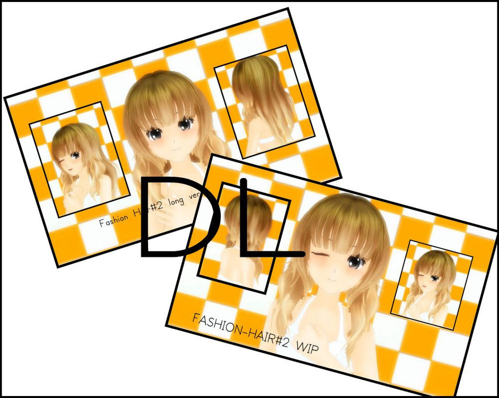 MMD-Fashion Hair#2 OUT NOW~!!!!! by iinoone