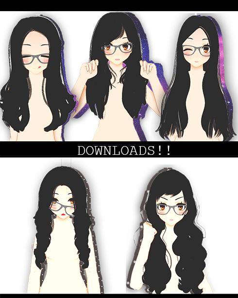 August! Sims3HairSETDL! by xNiiiinooo