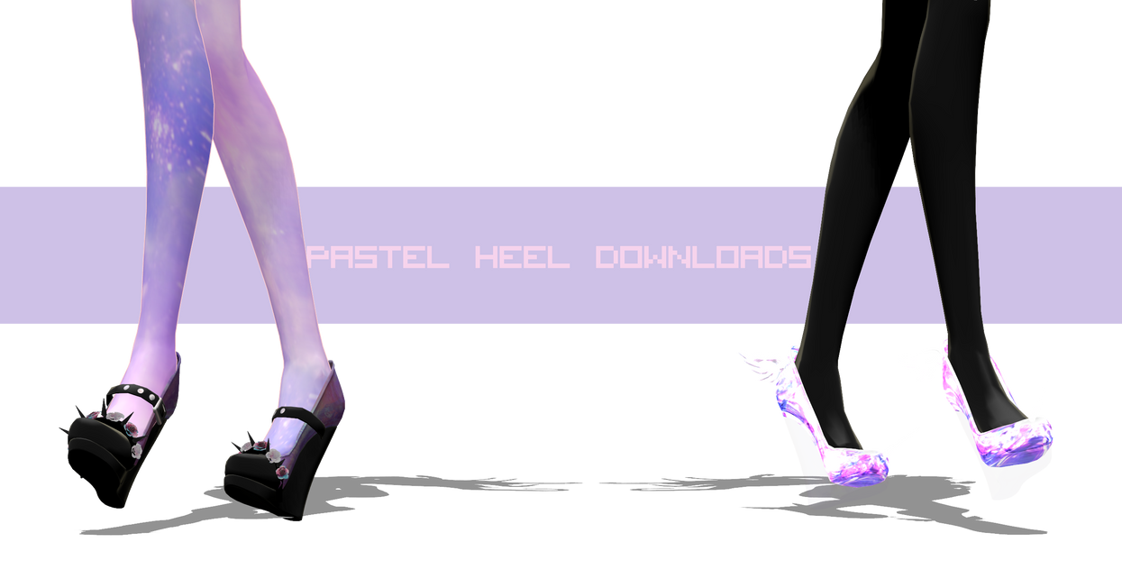 PASTEL HEEL:DL by iinoone