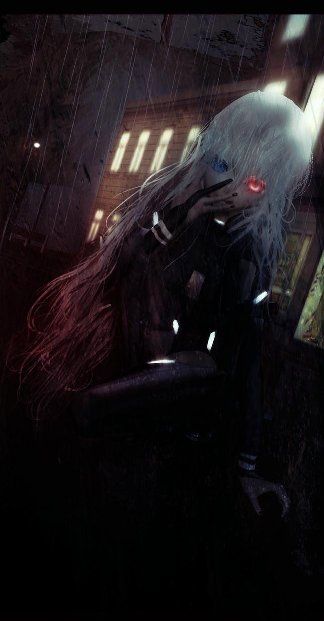 -GHOUL RAIN- by iinoone