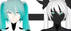 OMfggggggggg is Human Carbon Miku!! by ThisisKENZ