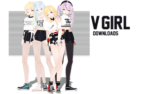 DL:TDA V-GIRL [kpopxvocaloid] NEW UPDATE!!! by ThisisKENZ
