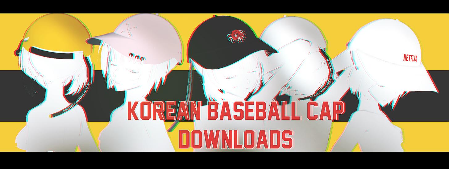 PARTDL:KOREAN BASEBALL CAP by ThisisKENZ