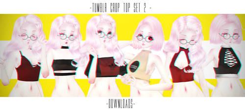 PARTDL:TUMBLR CROP TOP SET2