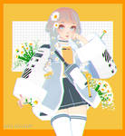 lofi city girl series : hatsune miku