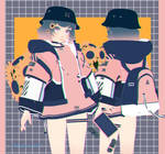 lofi city girl series : Rin Kagamine