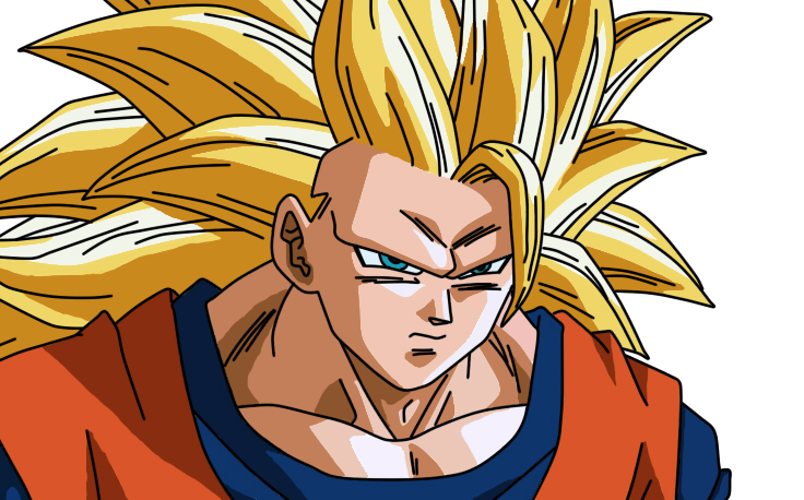 Son Goku Super Saiyan 3 By Goku8132HD On DeviantArt