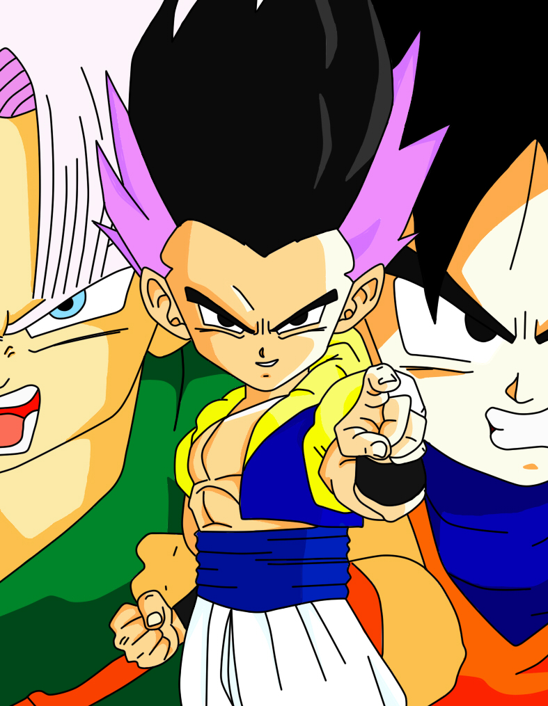 The Fusion Gotenks by Goku8132HD