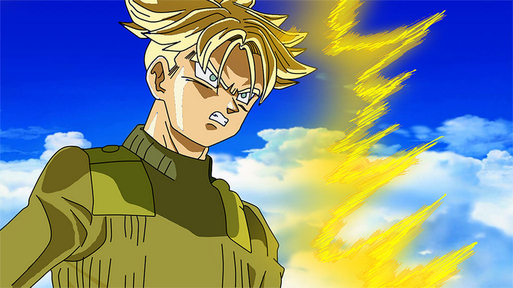 Future Trunks SSJ Dragon Ball Super by Goku8132HD