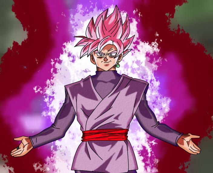 Goku Black Super Saiyan Rose: Goku8132HD (Goku 8132)