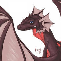 Dragon by WhisperWing