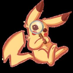 Detective Pikachu by TenaciousNoodle