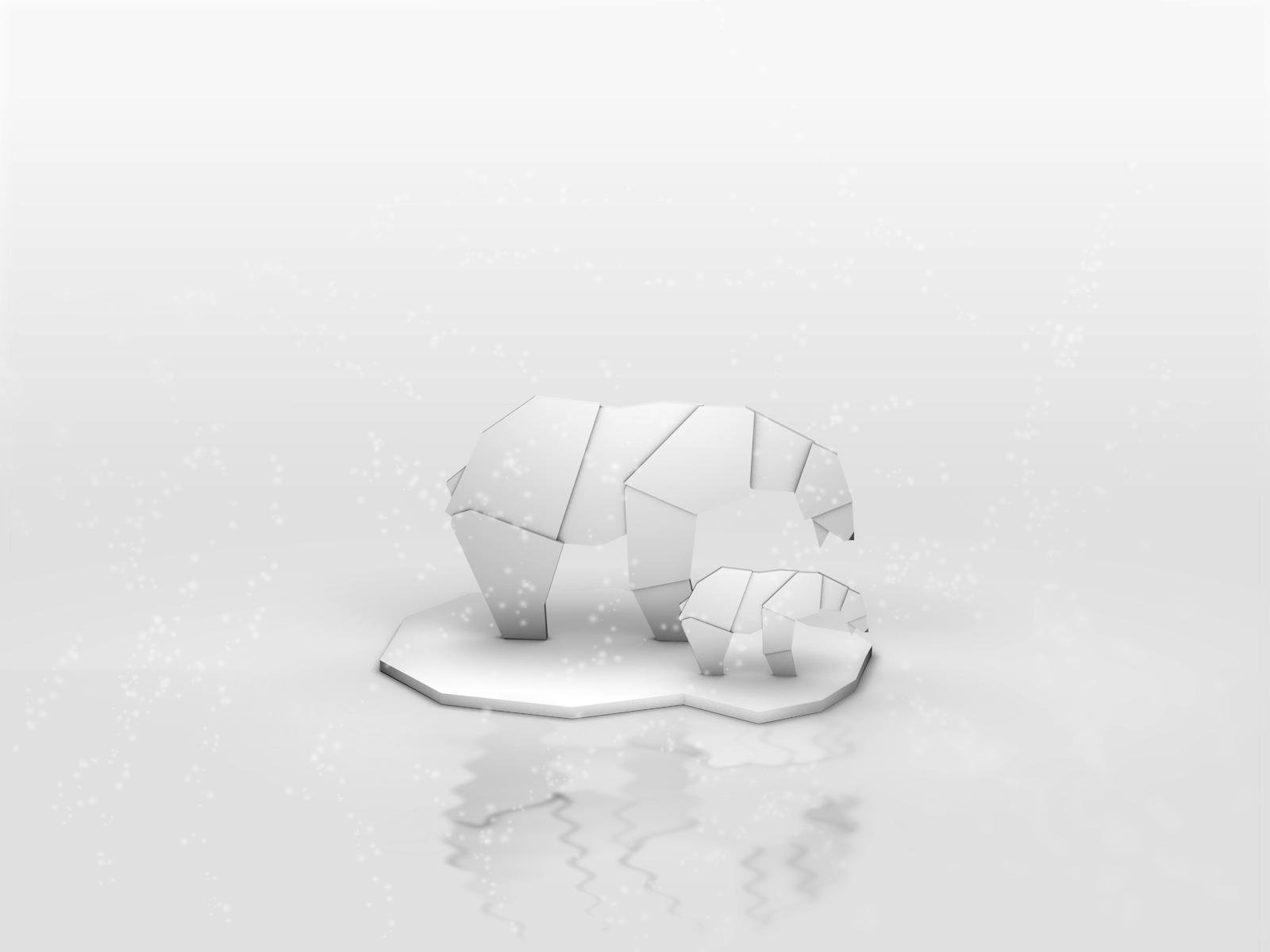 Origami Polar Bear by giacko on DeviantArt - photo#21