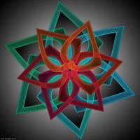 Floral Tubism 2 by phoenixkeyblack