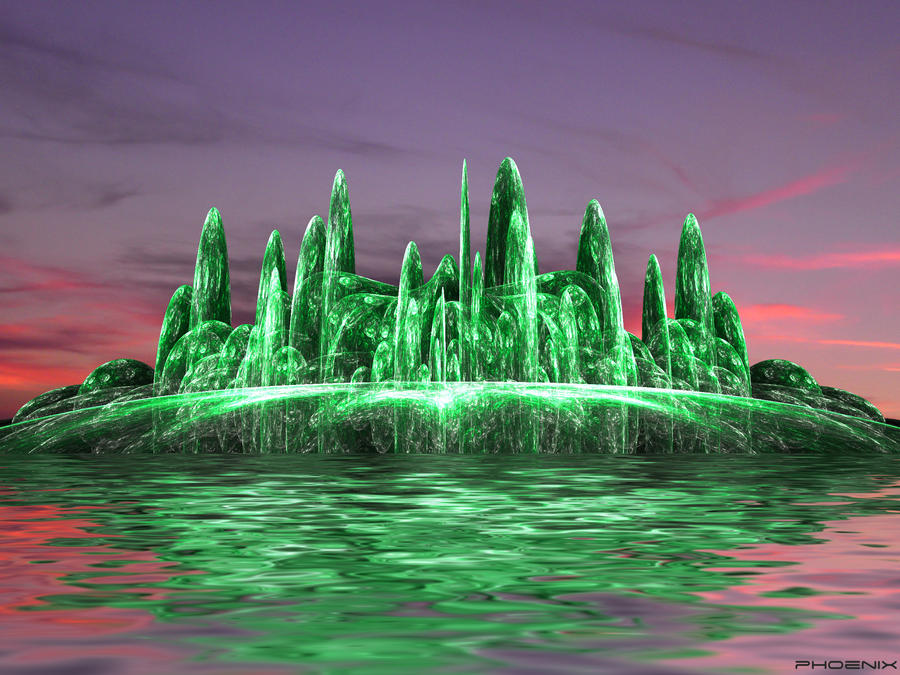 Emerald Isle by phoenixkeyblack
