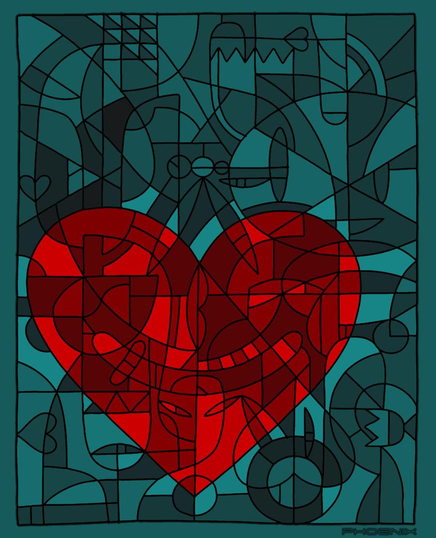 Heart For Art's Sake by phoenixkeyblack