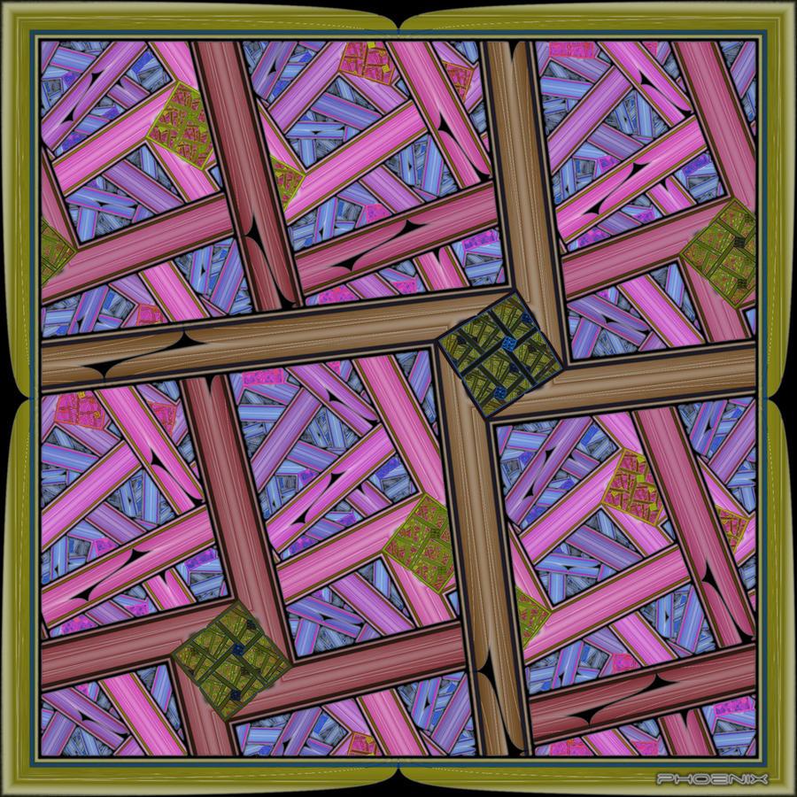Fractured Frame by phoenixkeyblack