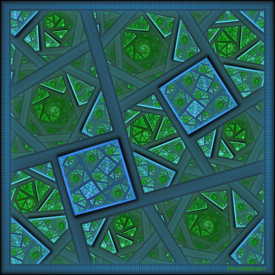 Almost Square by phoenixkeyblack