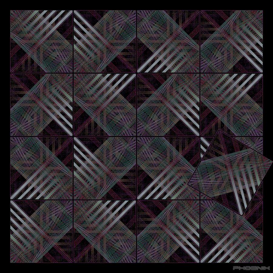 Asymmetric Tiling by phoenixkeyblack