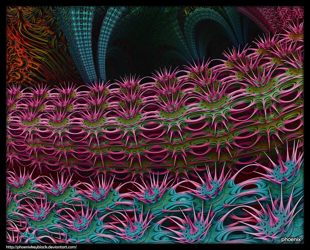 Thorny Hedges by phoenixkeyblack