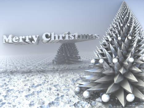 A Mandelbulb Christmas