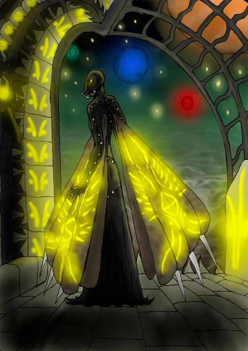 Guardian of Death by Meitti