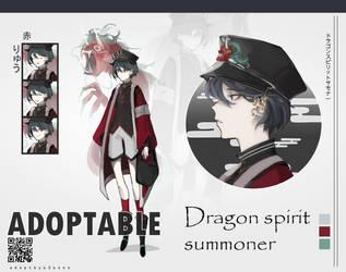 Auction Adopt (CLOSED) Dragon spirit summoner by 606sos