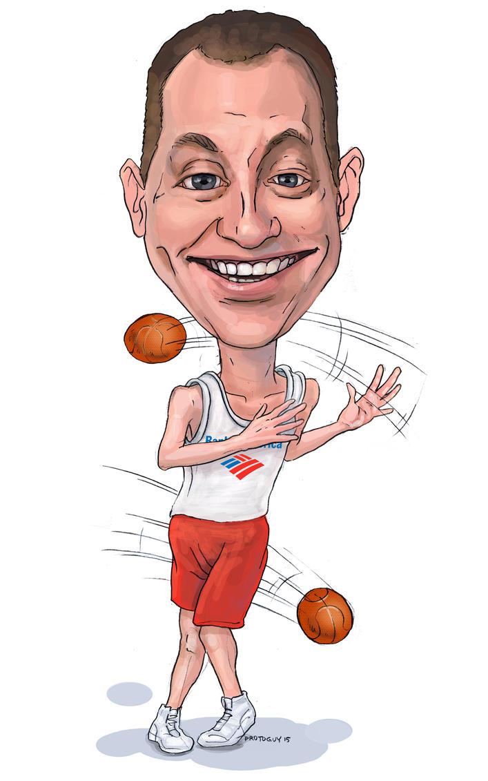 Bank of America Employees - Basketball Fan by Protoguy