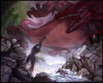 The Slaying of Glaurung by Protoguy