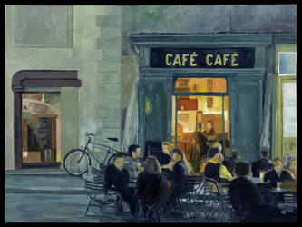 Cafe Cafe by Protoguy