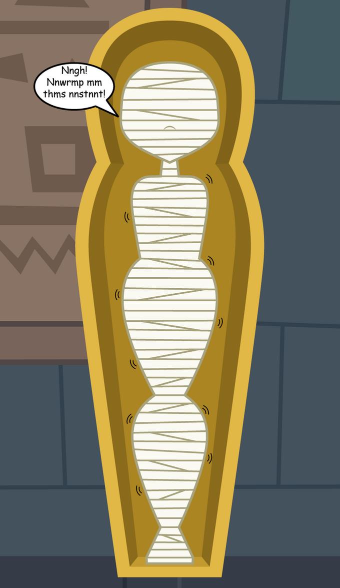 Mummifying the Sourpuss 3 by Flashlight237