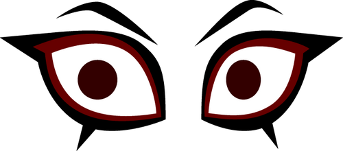 Crimson's Eyes by Flashlight237