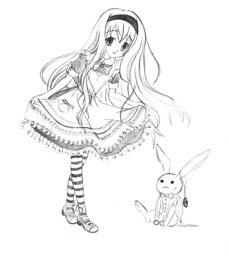 Alice in Wonderland by Fleeting-Life on DeviantArt