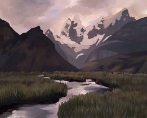 landscape study one