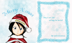 Merry Christmas Rukia by Bleach-Lovers