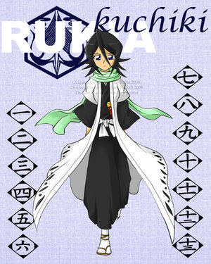 Captain Rukia Kuchiki by Bleach-Lovers