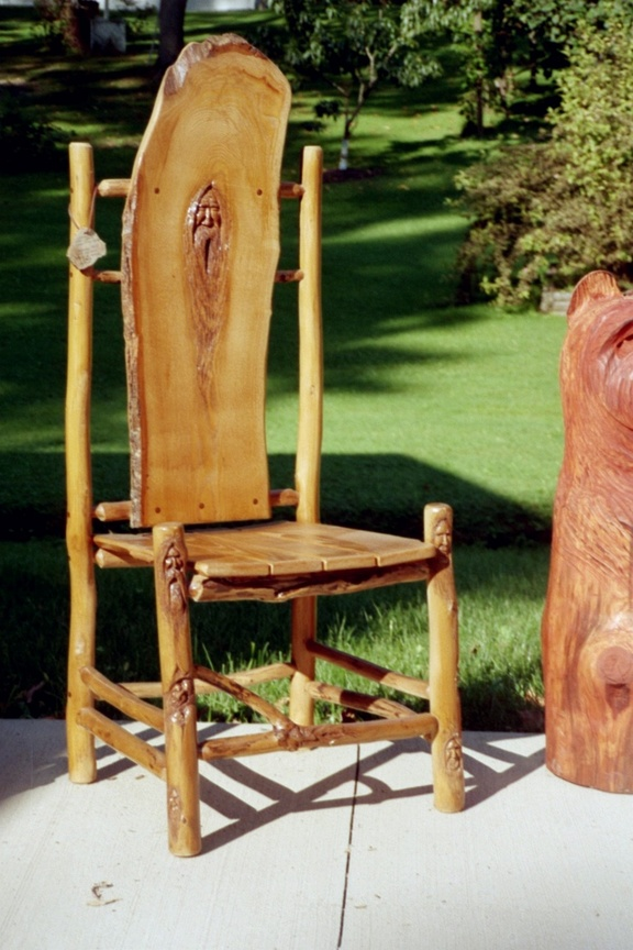 Woodspirit Chair by Synpainter
