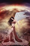 Angel's Desintegration by RifkaNoctisTemporvm